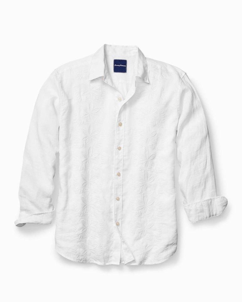 2dfb7b4a2d4f Main Image for Big   Tall White Night Linen Shirt