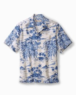 Big & Tall Destination Hawaii Camp Shirt