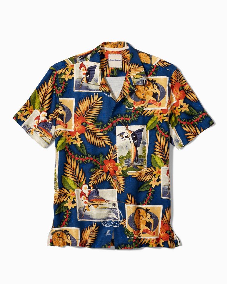 Main Image for Big & Tall Tommy Holidays Camp Shirt