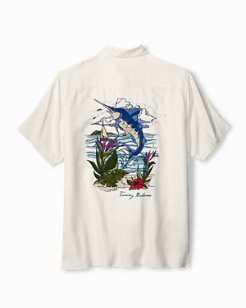 Big & Tall Marlin Bay Camp Shirt