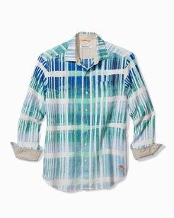 Big & Tall Okeechobee Ombré Breezer Linen Shirt