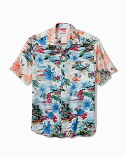 Big & Tall Sunblocked Cove Camp Shirt