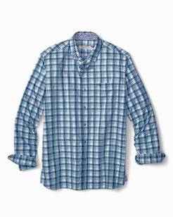Big & Tall Atlantic Tides Plaid Long-Sleeve Shirt