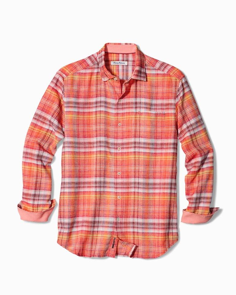 Main Image for Big & Tall Nod To Madras IslandZone® Linen Shirt