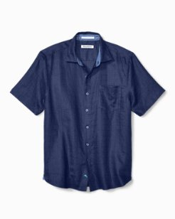 Big & Tall Costa Sera Linen Camp Shirt