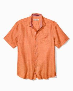 Big & Tall Costa Sera Linen Camp Shirt