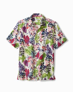 Big & Tall Riviera Garden IslandZone® Camp Shirt