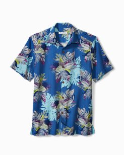 Big & Tall Fronds Bouquet IslandZone® Camp Shirt