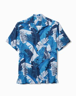 Big & Tall Bayou Blues IslandZone® Camp Shirt