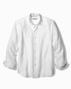 Big & Tall Down The Isle Linen Shirt