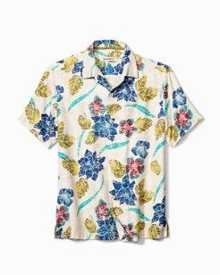 Big & Tall Batiki Beach IslandZone® Camp Shirt