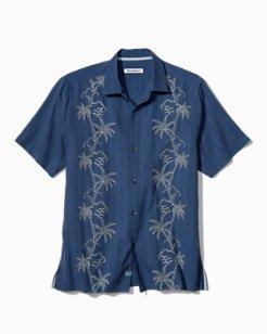 Big & Tall Wandering Palms Camp Shirt