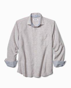 Big & Tall Lanai Tides Stretch-Linen Shirt
