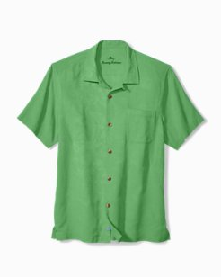 Big & Tall St. Lucia Fronds Camp Shirt