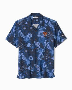 Big & Tall NFL Fuego Floral Camp Shirt