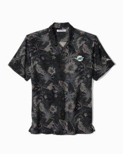 Big & Tall NFL Fuego Floral Camp Shirt