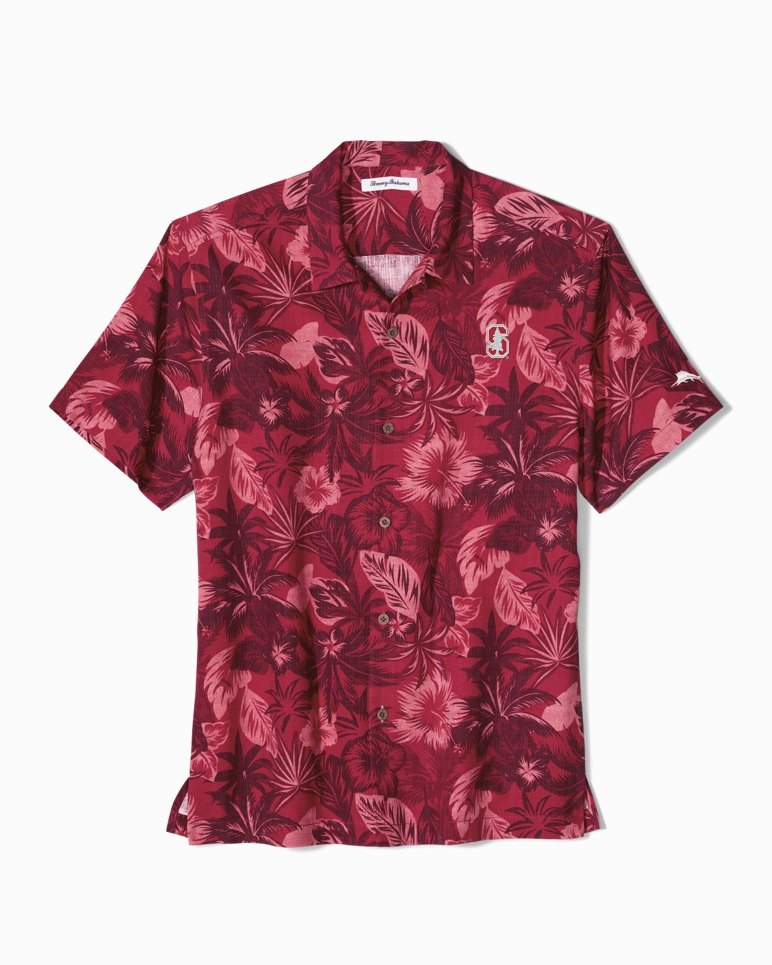 Main Image for Big & Tall Collegiate Fuego Floral Camp Shirt