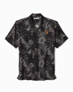 Big & Tall Collegiate Fuego Floral Camp Shirt