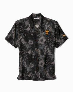 Big & Tall Collegiate Fuego Floral Camp Shirt