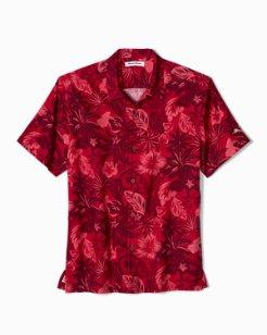 Big & Tall Fuego Floral Camp Shirt