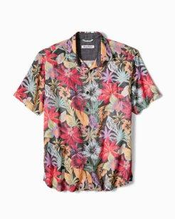 Big & Tall Fuego Flora Camp Shirt