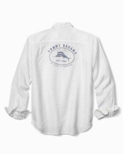 Big & Tall Island Life '93 Breezer Linen Shirt