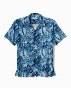 Big & Tall Selva Shores IslandZone® Camp Shirt