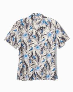 Big & Tall Tulum Bloom Camp Shirt