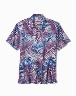 Big & Tall San Juan Fronds IslandZone® Camp Shirt