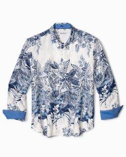 Big & Tall Mariachi Mirage Linen Shirt