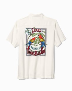 Big & Tall Parrots Of Paradise Camp Shirt