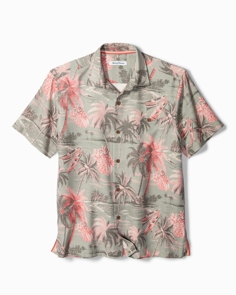 Main Image for Big & Tall Puerto Palms IslandZone® Camp Shirt