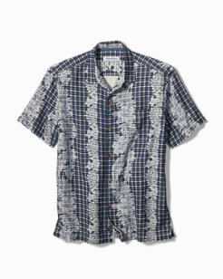 Big & Tall Camelo Vines Camp Shirt