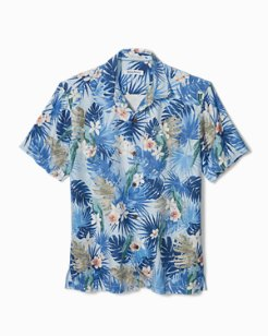 Big & Tall Marino Paradise Camp Shirt