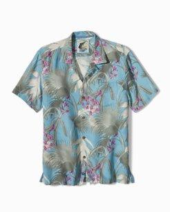 Big & Tall Palma Novella Camp Shirt