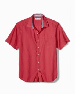 Big & Tall The Salvatore Stretch-Cotton Camp Shirt
