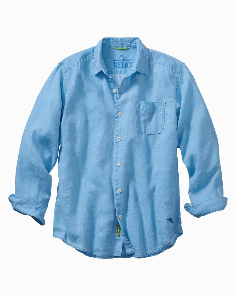 Main Image for Big & Tall Sea Glass Breezer Linen Shirt