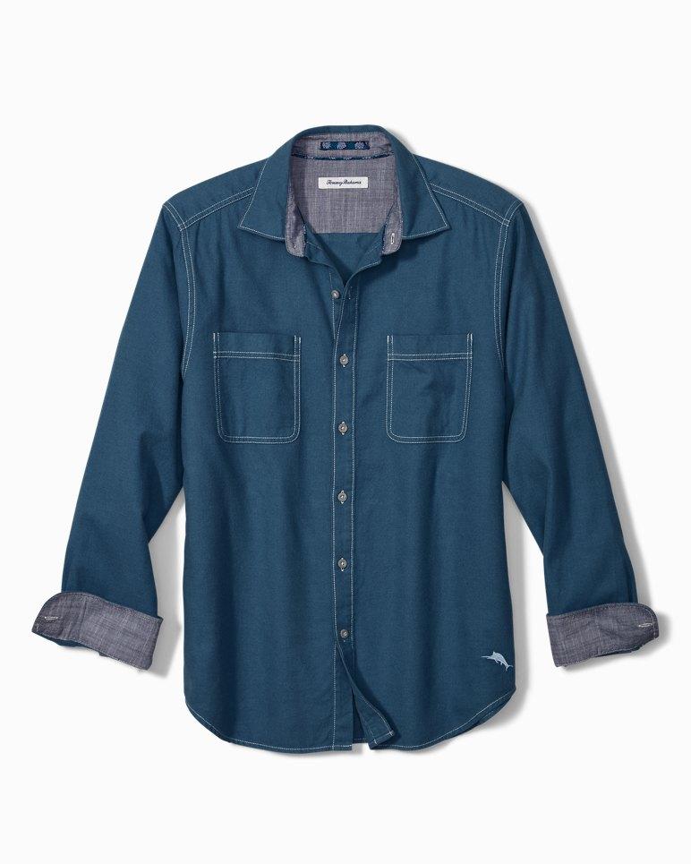 Main Image for Big & Tall Bonfire Beach Flannel Shirt
