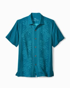 Big & Tall Pacific Floral Camp Shirt
