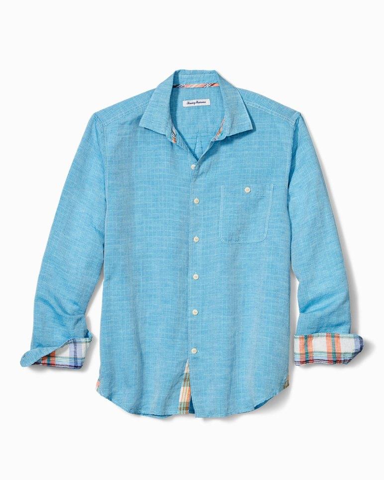 Main Image for Big & Tall Beach Breaker Sand Linen Shirt