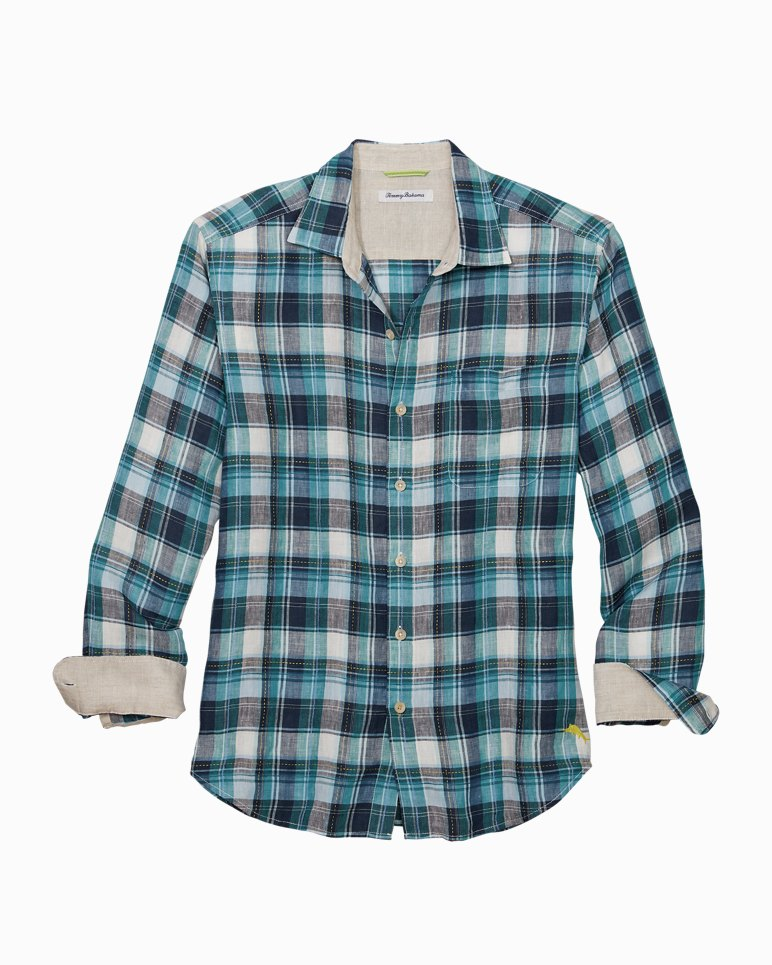 Main Image for Big & Tall Linen In Luxury Shirt
