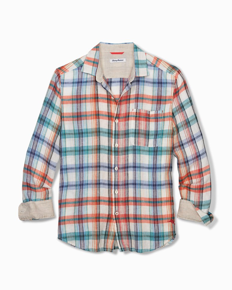 Main Image for Big & Tall Madera Beach Linen Shirt