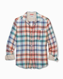 Big & Tall Madera Beach Linen Shirt
