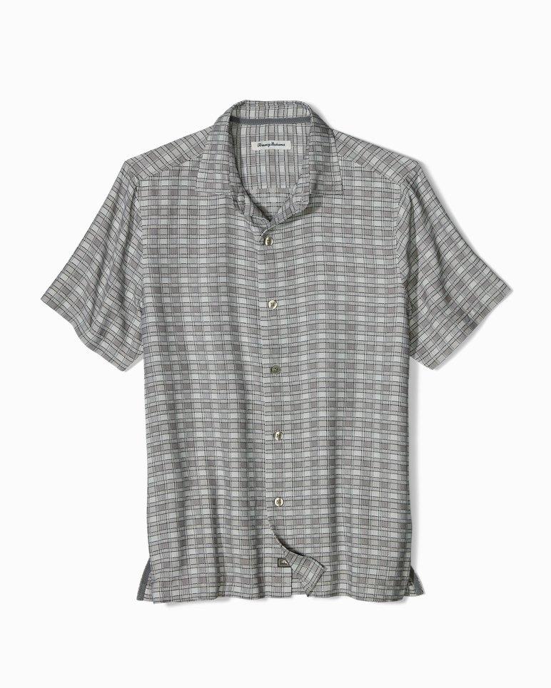 Main Image for Big & Tall Geo Tini Plaid Camp Shirt