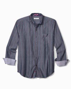 Big & Tall Paradiso Prism Stripe Shirt