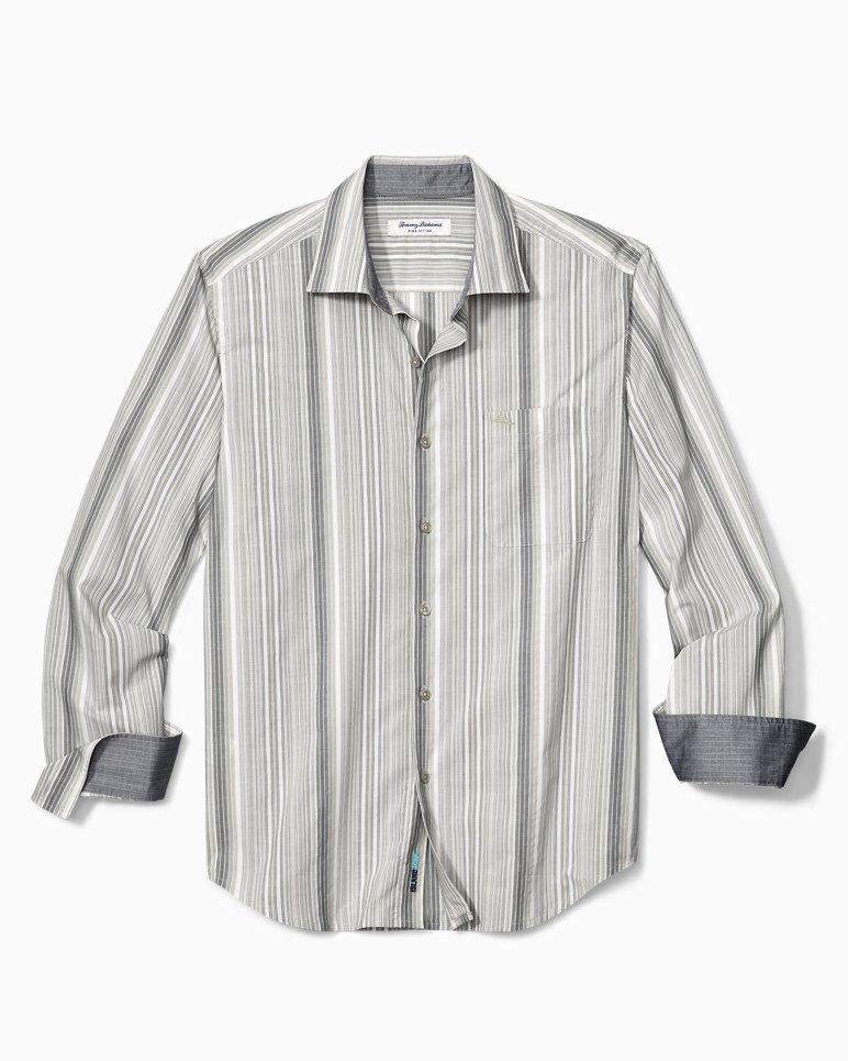 Main Image for Big & Tall Buenos Dias Stripe IslandZone® Shirt
