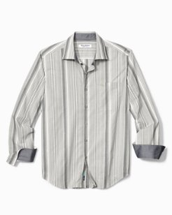 Big & Tall Buenos Dias Stripe IslandZone® Shirt