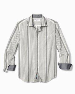 Big & Tall Buenos Dias Stripe IslandZone® Shirt