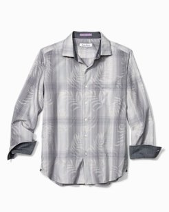 Big & Tall Primo Palms Plaid Shirt