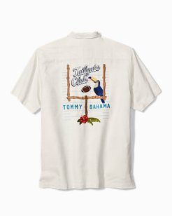 Big & Tall Tailgate Club Camp Shirt